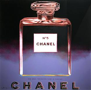 Chanel from Ads - Andy Warhol