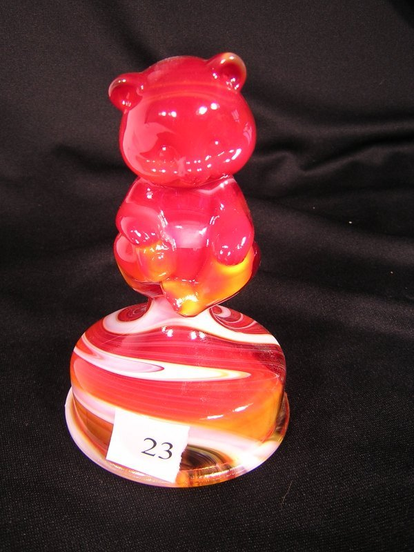 23A: Fenton Red Slag Bear on Bust-off