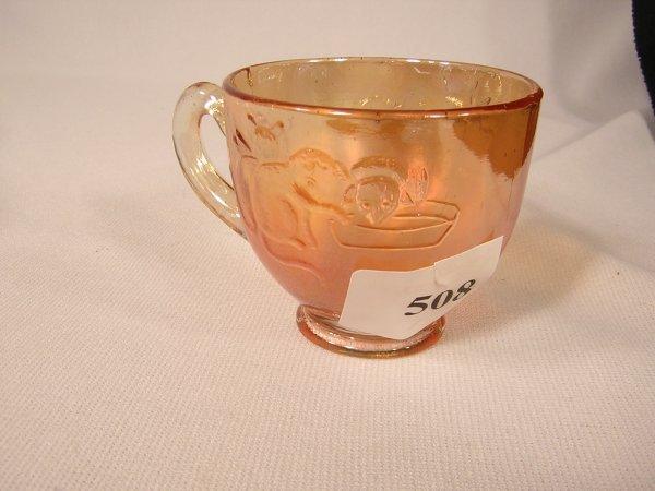 508: Fenton Kittens pattern Child's Carnival Cup  -- ca