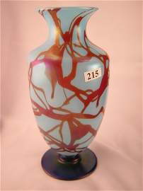 215: Fenton 1920s rarity: Turquoise Blue No. 3024 10-1/