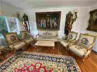 Brand new Louis XV living room set