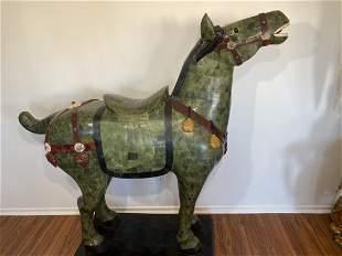 Life size Stone Chinese horse