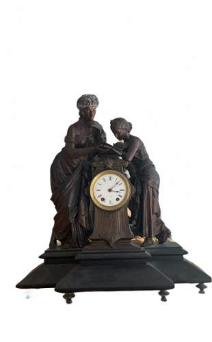Extra Large Metal Clock