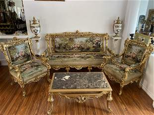 Luxury French Style Living Room Set