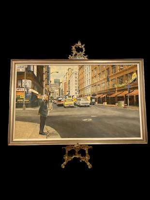 Walt Johnston - Downtown LA Painting