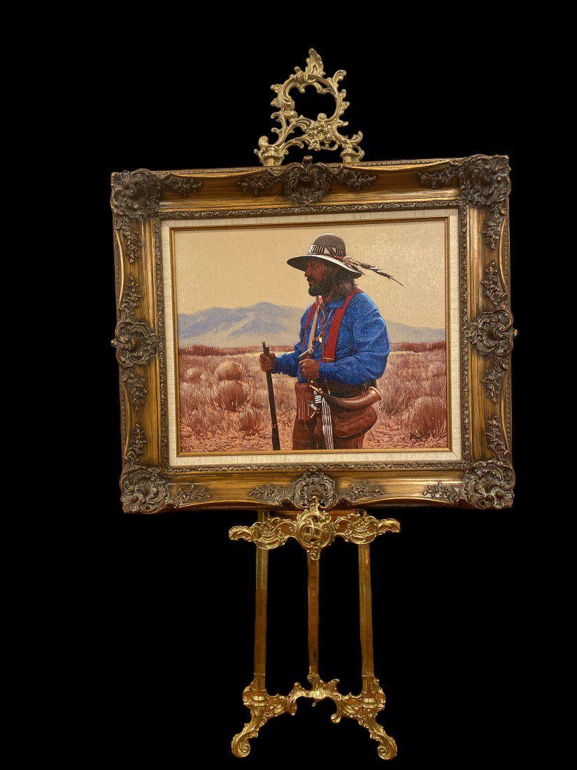 Mountain Man- Lawrence Benjamin Porter Painting