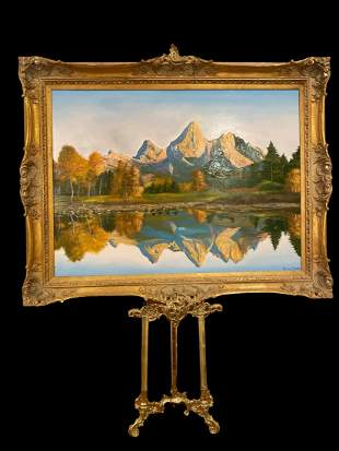 Reflection- Maurice Green Oil Painting