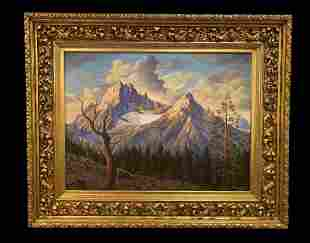 Extra Large Oil Painting by Maurice Green