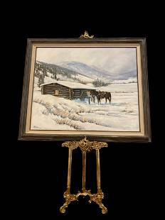 Oil Painting by L. R. Lusk