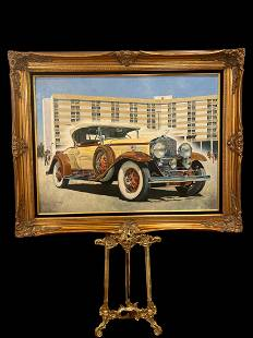 1930 Cadillac V-16 Roadster By Tom Darrah