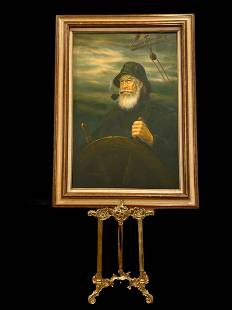 Capitan- Oil on Canvas Painting