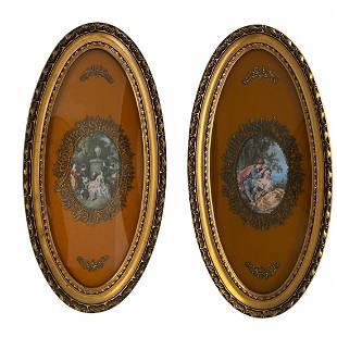 Pair of Victorian Framed Pictures