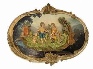 Italian Decorative Plaque