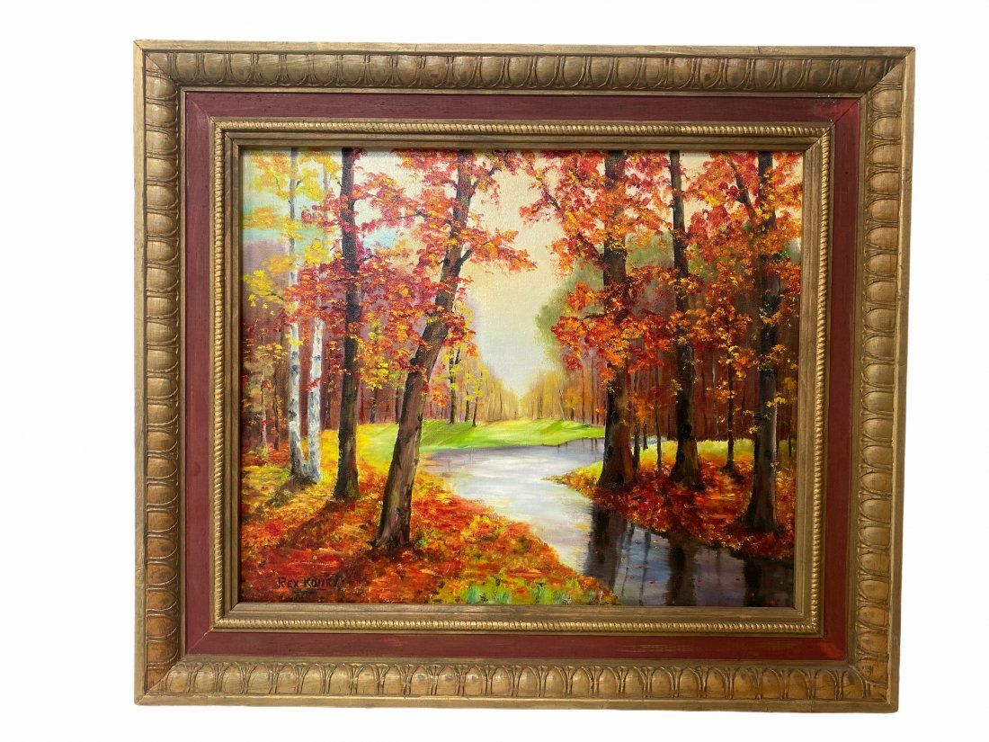 Oil Painting by REX KOURY