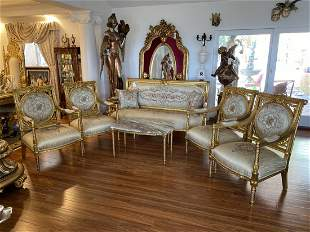 French Louis XV style Living Room Set