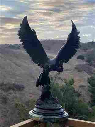 Falcon Bronze Sculpture