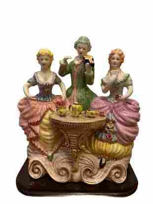 Italian Capodimonte Porcelain Figurines