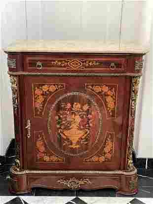 French Louis XV Style Credenza Table