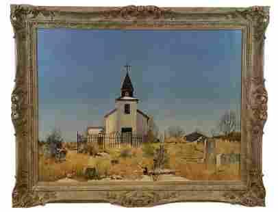 Church - Darrah Oil Painting
