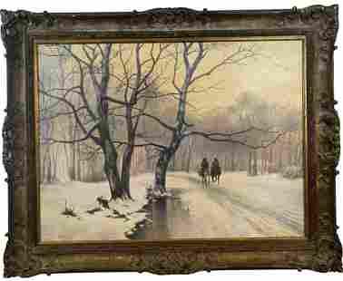 Western Winter Landscape by Hobby