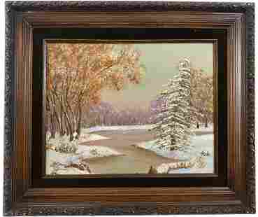 Winter Landscape by Freda