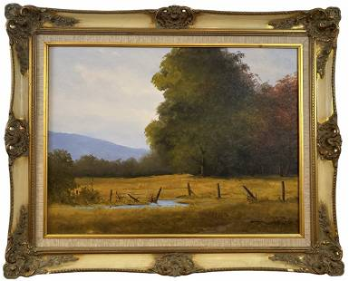 1878 Oil on Canvas Signed