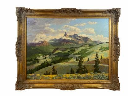 Hall Diteman 1965 Oil Painting on Canvas