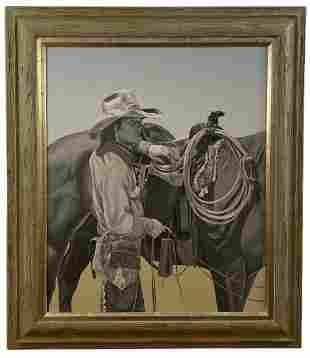 Cowboy by Walt Johnston