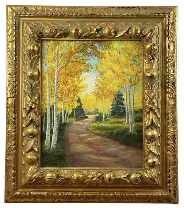 Autumn by M. Del Frate Oil Painting
