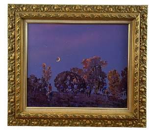 L. B. Porter Oil Painting