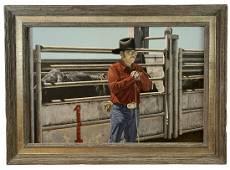Walt Johnston - Oil Painting 1982