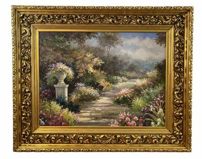 Extra Large Oil Painting - Unknown Artist