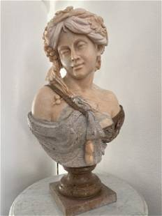 Marble Bust Lady