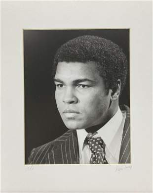 Original Mohammed Ali photograph by Kojo Kamau 1979