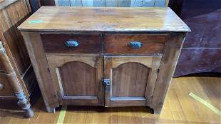 ANTIQUE COUNTRY JELLY CUPBOARD