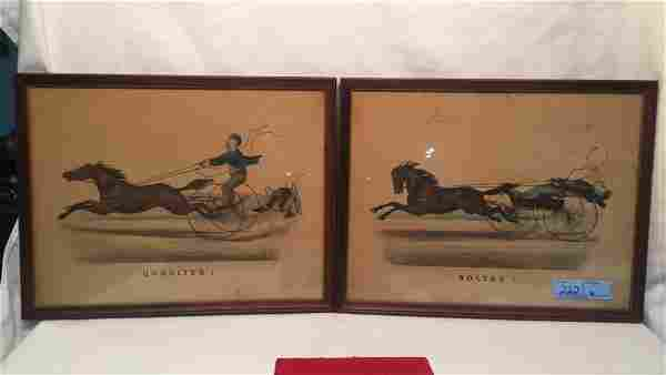 PR EARLY THOMAS WORTH PRINTS BY CURRIER & IVES