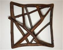 Charles Arnoldi Untitled Wood Sculpture