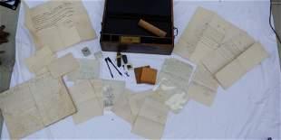 Box of nautical ephemera