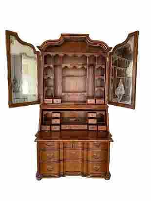 Early eighteenth century style slant front secretary