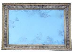Continental giltwood mirror (20th c)