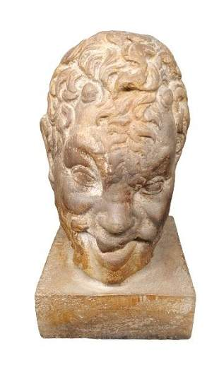 Greek Satyr Bust