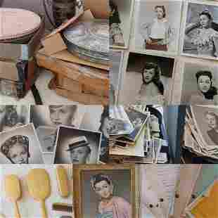 Huge Vera Ralston Personal Collection of 40s Hollywood