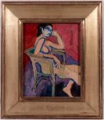 William Theophilus Brown, Seated Woman