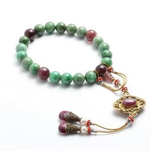A Piece Of Jadeite Beads Hand String