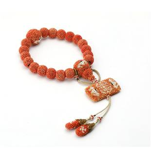 A Piece Of Millet Beads Hand String