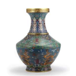 A Cloisonne Enamel Vase