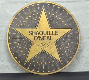 Shaquille ONeal Bronze Plaque