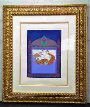 Romaine De Tertoff Erte Limited Edition Serigraph