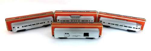 Collection of 4 Vintage Lionel Trains 2532  2533
