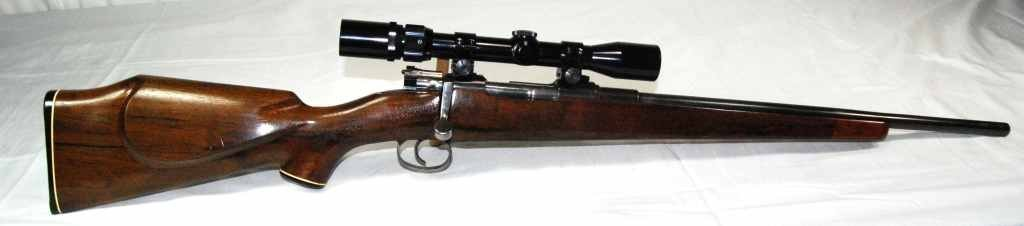 15: German Mauser C30 Rifle with Bushnell Scope